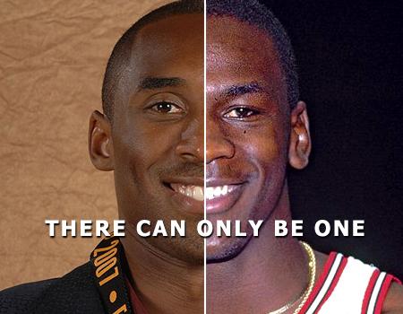 Kobe Bryant Vs. MichaelJordan
