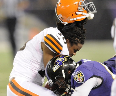 Josh Cribbs Got Lit Up Last Night