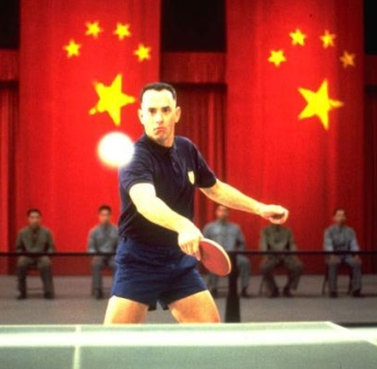 Forrest Gump Loses The Heavy Weight Champion Ping Pong Belt