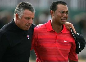 """Ryder Cup """"Moves Tiger Woods to The Back of TheBus"""