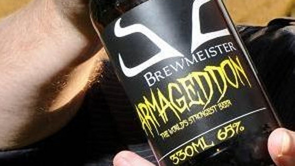 Worlds Strongest Beer Revealed.