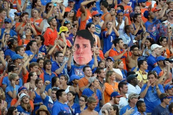 Creepy Florida Fan Is Well…Creepy