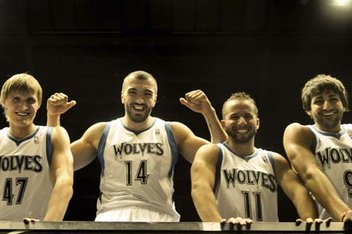 Minnesota Timberwolves Are Too White?