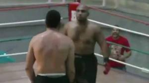 MMA Fighter Gets a Little tooCocky