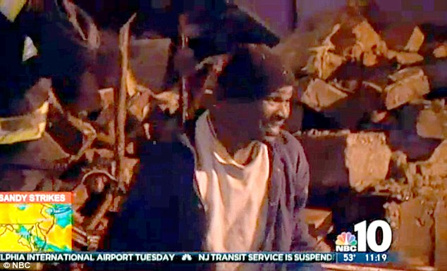 Man pulled out of collapsed building from Sandy…was promptly arrested for looting