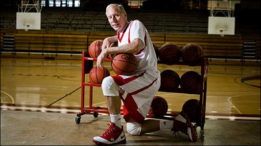 76 Year Old Tries Out For TheNBA.