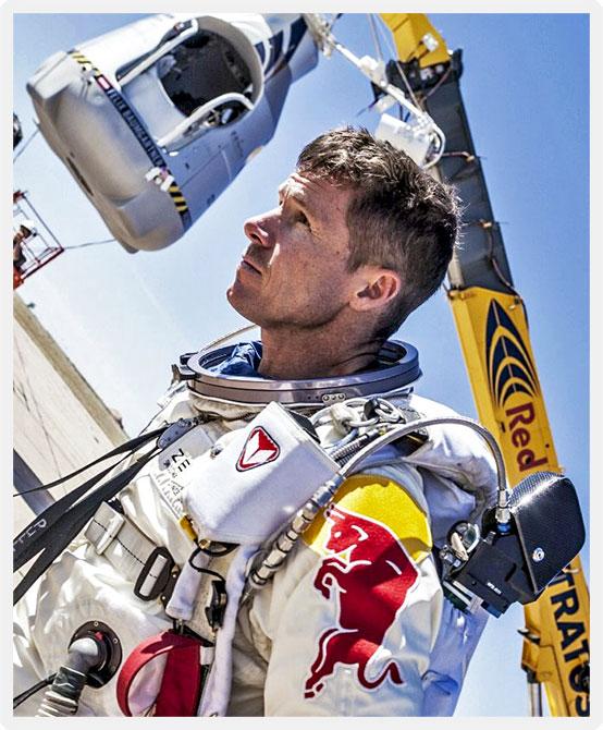Felix Baumgartner: Record JumpLIVE
