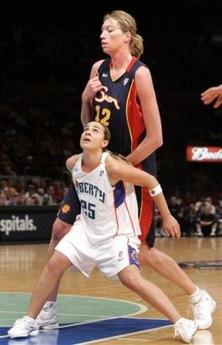 The WNBA…