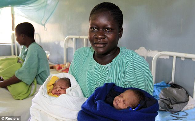 Young Kenyan mother names new-born twins Barack Obama and Mitt Romney