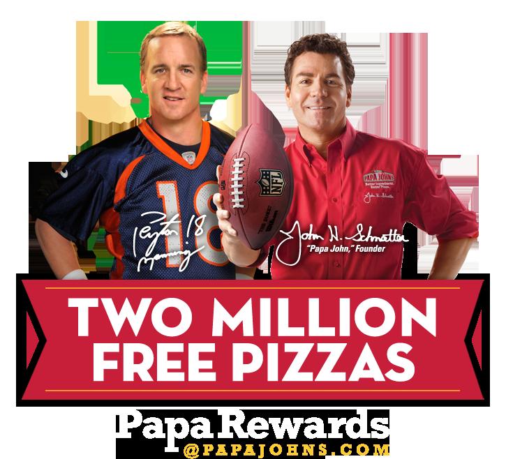 Peyton, Papa Johns andWeed.