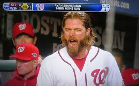 Jayson Werth With The One-Two Step Into Second Base